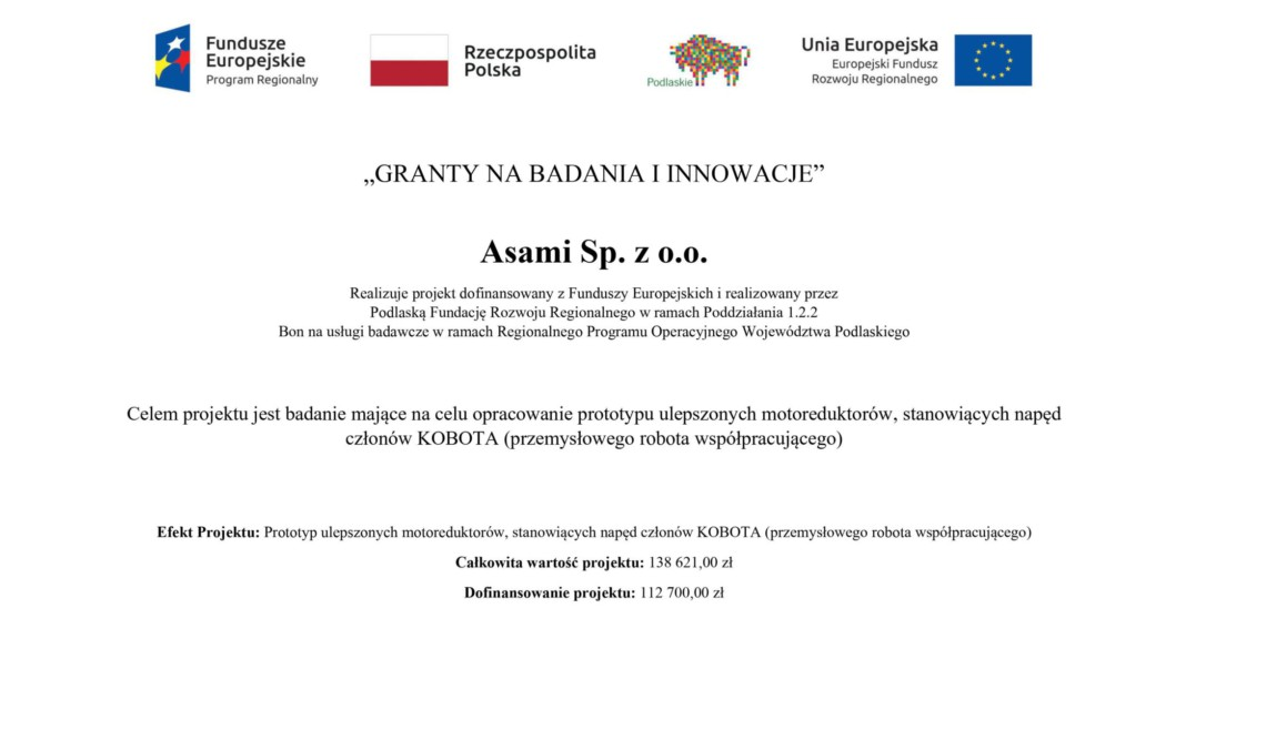 Granty na badania i innowacje