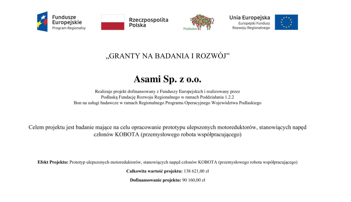 Granty na badania i rozwój